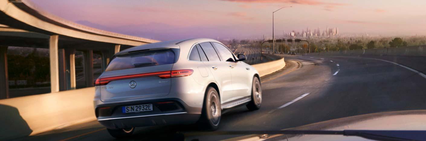 Mercedes EQC - Beschleunigt ansatzlos.