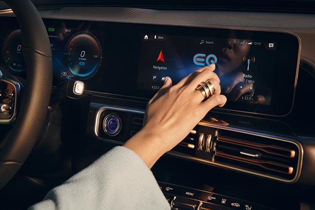 der neue Merceds-Benz EQC