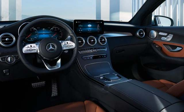 GLC Coupé MBUX Touch Bedienkonzept